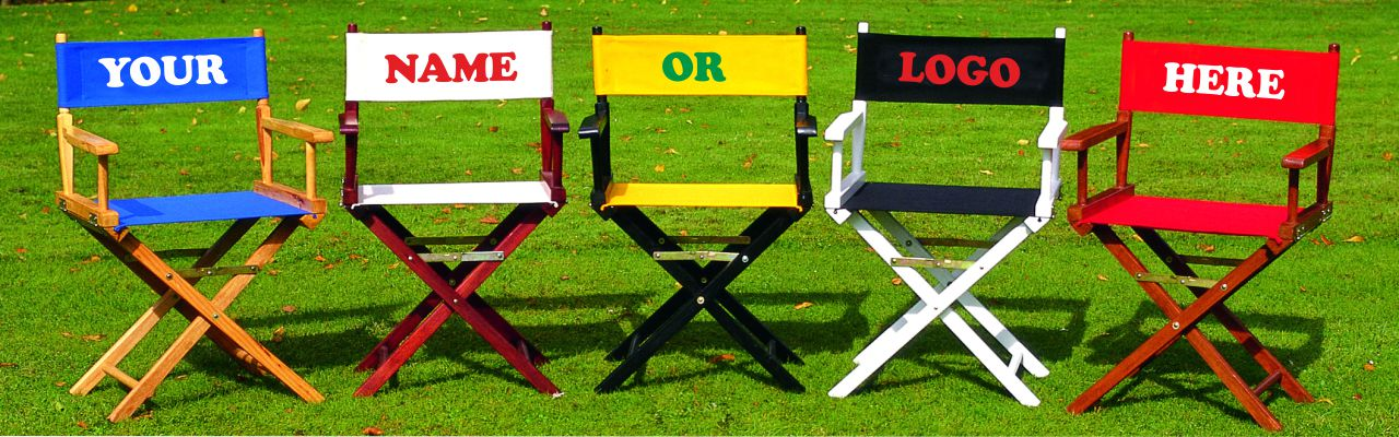 DirectorChairs.co.uk - Personailised and customised director chairs